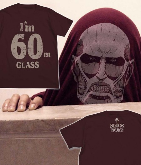 01-超大型巨人Tシャツ