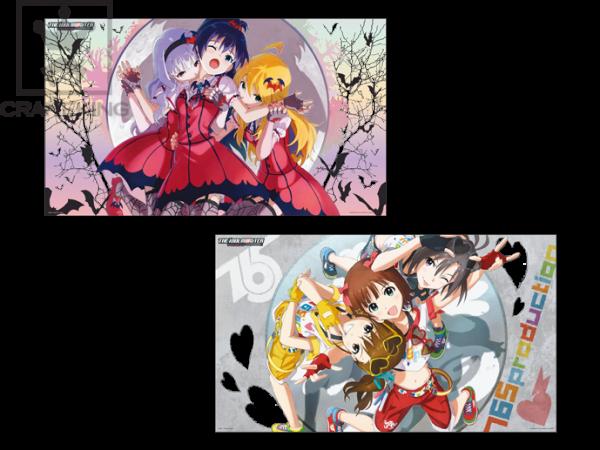 48615_アイドルマスター デラックスクリアポスター~生っすか!?コレクション~vol.1