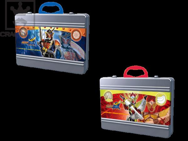 仮面ライダー鎧武/ガイム アタッシュケース型缶バッグ