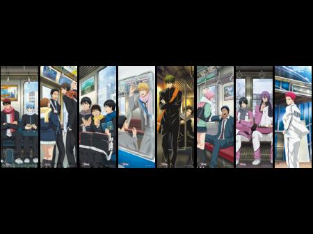 48708_黒子のバスケ コレクションクリアポスター