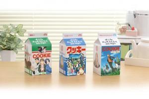 大蝦夷農業高校銀匙購買部 牛乳パック型クッキー_01