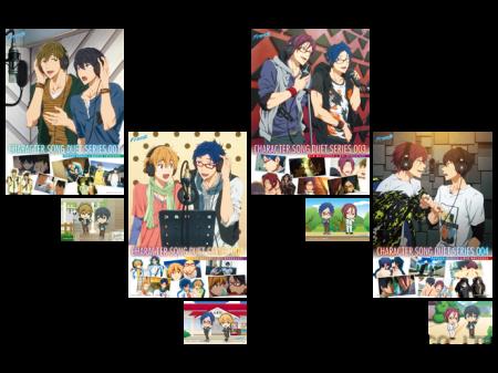 49001_TVアニメ『Free!』キャラクターソング・デュエットシリーズ発売記念セット