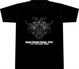 """I-401""""ARS NOVA"""" MODE Tシャツ  (2000円)"""