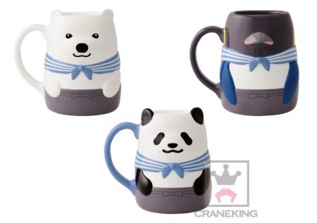 48934_しろくまカフェ-~LIVING LIFE~キャラ型マグカップ(1)