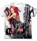 紅霞フルグラフィックTシャツ