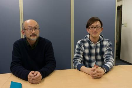 お話を伺った、アルターの桜井猛さん(左)と、矢吹 崇さん
