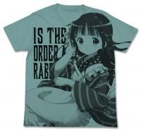 千夜オールプリントTシャツ