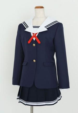 豊ヶ崎学園女子制服冬服_斜