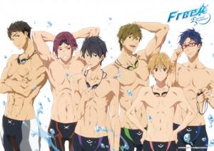 Free! -Eternal Summer- プレミアム3Dポスター (1)