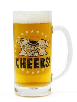 モッフル達の乾杯ビールジョッキ表inビールs