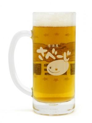モッフル達の乾杯ビールジョッキ裏inビールs