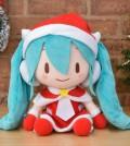 """初音ミク -Project DIVA- F 2nd メガジャンボぬいぐるみ""""初音ミク クリスマス"""""""