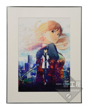 20160222 アニメ第4弾キービジュアル Illustrated by 足立慎吾 A-1 Pictures