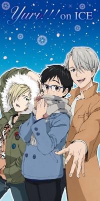 ユーリ!!! on ICE プレミアムバスタオル2