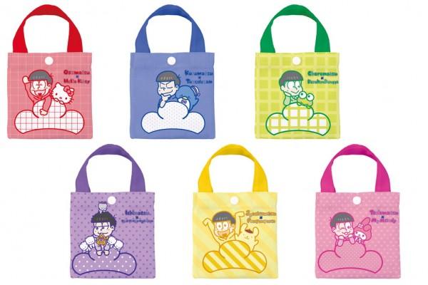 おそ松さん×Sanrio characters エコバッグ(外袋:表)