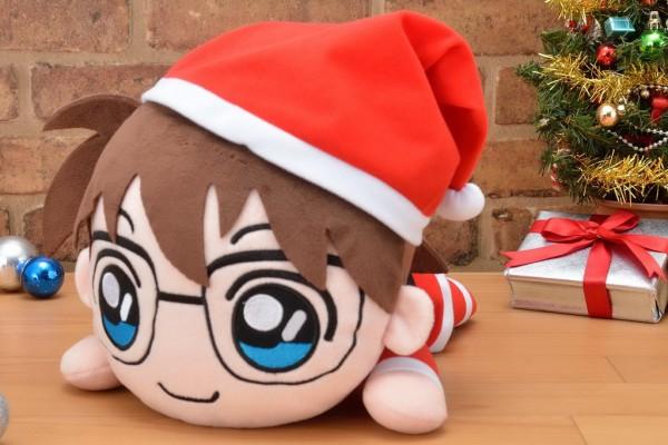 """名探偵コナン メガジャンボ寝そべりぬいぐるみ""""江戸川コナン-クリスマス"""""""