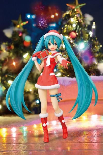 """初音ミク -Project DIVA- F 2nd スーパープレミアムフィギュア""""初音ミク クリスマス""""Ver.1.5"""