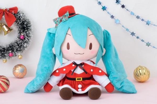 """初音ミクシリーズ メガジャンボふわふわぬいぐるみ""""初音ミク-クリスマス"""""""
