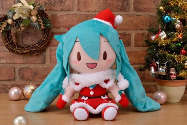 (差替え)クリスマスふわふわぬいぐるみ