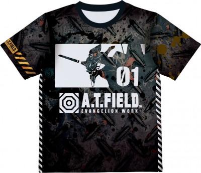 A.T.FIELD EVANGELION WORK プレミアムTシャツ_01